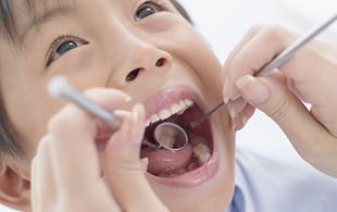 予防のための小児歯科